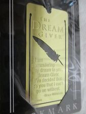 DICKSON BKM-720 THE DREAM GIVER BOOK MARK 18K GOLD PLATED LOT OF 2