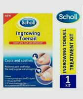 Scholl Ingrown Toenail Treatment Complete Clip and Spray Kit (Unboxed)