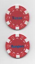Texas Rangers Poker Chip Card Guard