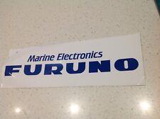 FURONO ELECTRONICS  STICKER BIG 300mm,BOAT 4WD MALIBU TOYOTA QUINTREX MARINE