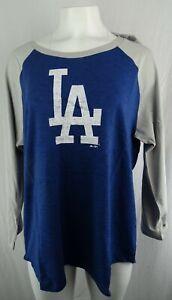 Los Angeles Dodgers MLB Majestic Plus Size Women's Graphic T-Shirt