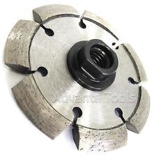 "4"" x.250"" V-Shaped Crack Chaser for Concrete Asphalt w/ 5/8""-11 Threaded Adapter"