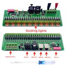 30 Channels DMX RGB LED Strip Controller DMX512 Decoder Dimmer LED Driver 12V