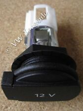Genuine VW Audi Skoda SEAT - Trunk Boot Socket 12v 12 Volt Power Outlet with Cap