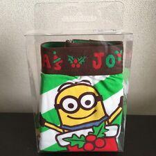 USJ Minion Hello kitty Elmo Snoopy Christmas Mens Boxer Shorts F/S