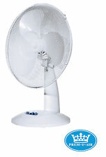 Prem-I-Air 16'' Home Office Work Desk Oscillating Cooling Fan 3 Speed Settings