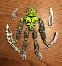 Lego 8943 Axalara Bionicle Figur Lewa Nuva mit 4 Schwertern
