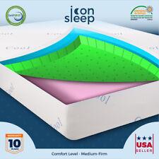 "8"" Inch NEW Cool & Gel Memory Foam Mattress for FULL Size Bed Medium Firm Feel"