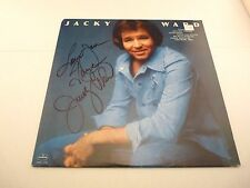 Jacky Ward Country Music Autographed Signed LP Album PSA Guaranteed SRM-1-1170