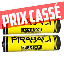 PILE LITHIUM 3.6V AA ER14505 LS14505 Li-socl2 2700Mah BATTERIE LS14500 AA SAFT