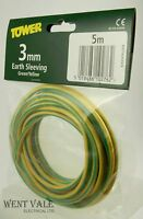 Tower DGYSLV23/5 - 5 Mtr Coil Of 3mm Green And Yellow Earth Sleeving NIP