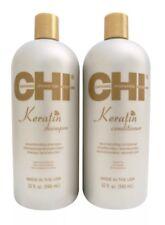 CHI Keratin Shampoo & Conditioner Set Duo 32 oz NEW