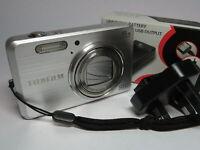Fujifilm Finepix J150W 10MP 5x Wide Zoom All Metal Case Digital Camera & 2GB SD