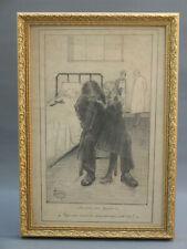 G.RENAUX dessin 14 -18  WWI première guerre mondiale poilu Steinlen    ZEPPELIN