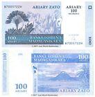 Madagascar 100 Ariary (500 Francs) 2004 P-86 Banknotes UNC
