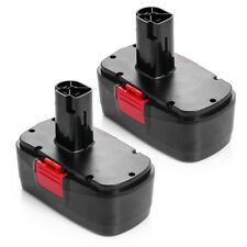 2 Pack 19.2V 3000mAh Battery for Craftsman C3 11375 130279005 Cordless Drill