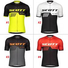 Men Cycling Jersey Short Sleeve Bike Motocross MTB Shirt Jacket Mountain Clothes