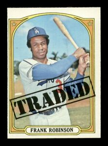 1972 Topps Set Break # 754 Frank Robinson Traded NM *OBGcards*
