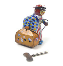 Monkey Globetrotter - Classic Clockwork Collector's Toy