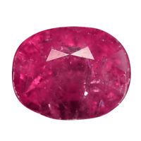 1.14 Ct. Unheated Lustrous Red Natural Ruby WITH GLC CERTIFY