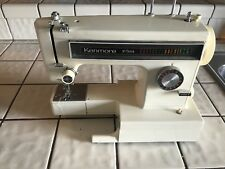 Vintage Kenmore 10 Stitch Heavy Duty Free Arm Zigzag Sewing Machine Model 385