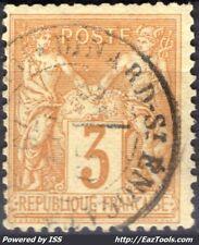 FRANCE SAGE N° 86 AVEC CACHET A DATE