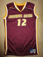 Brett Leonard #12 Arizona State Sun Devils Basketball 2000 Game Worn Used Jersey