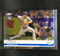 2019 Topps Chrome BRANDON LOWE RC Tampa Bay Rays Rookie #151