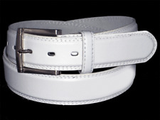 "MEN'S CASUAL DRESS JEANS GENUINE LEATHER BELT 1 1/2"""" WIDE M L XL + BIG SIZE"