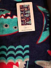 Boy's (Kid's) Blue Shark Printed Beach Towel Quick Dry Towel for Pool Beach -NEW