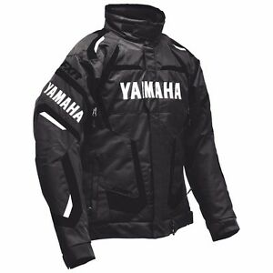 MENS YAMAHA FOUR STROKE SNOWMOBILE JACKET BLACK FXR SMB-16J4S-BK-SM SMALL