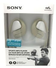NUOVO Sony NW-WS413 4GB Impermeabile Walkman Sport Nuoto Lettore MP3 (Crema) Bianco