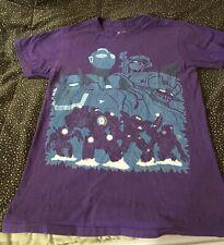 Teepublic Men's Shirt Small Ultraman Voltron Macross Mazinger T-shirt Purple