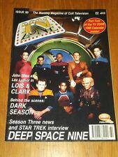 TV ZONE #60 BRITISH MONTHLY MAGAZINE LOIS AND CLARK STAR TREK DEEP SPACE NINE^