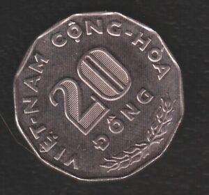 VIETNAM 20 DONG 1968