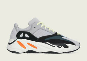 Adidas Yeezy 700 Wave Runner Size 12 Men B75571 NEW Grey Black Orange 2021