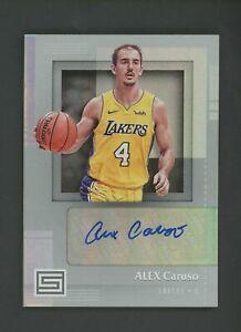 2017-18 Panini Status Alex Caruso Signed AUTO Los Angeles Lakers