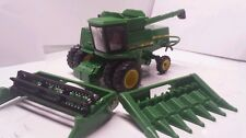 1/64 ERTL custom John deere 8820 titan II rwa and Duals combine farm toy