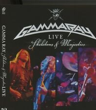 Gamma ray-Live-skeletons & Majesties Live Blu-ray Best of Heavy Metal NEUF