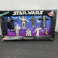 Vintage 1993 JusToys Star Wars Bend-Ems Limited Edition 8 Piece Gift Set