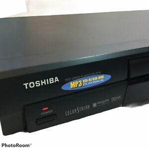 TOSHIBA SD-2710u CD/DVD Video Player MP3 120V NO REMOTE