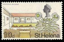 ST. HELENA 217 (SG234) - New School Buildings and Scrubweed (pa26538)