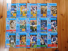 Cardiff City Home Programmes 1998/99