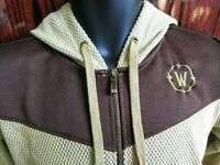 World of Warcraft Blizzard Gaming Size Small Zip-Up Hoodie Embroidered Logo