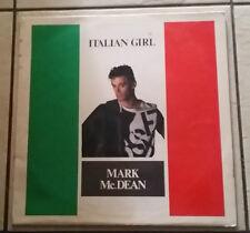Mark McDean – Italian Girl - Fuori Di Testi FDT 023 - 1986 - RARO -