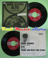 LP 45 7'' DIONNE WARWICK Alfie Trains and boats and planes 1966 no cd mc dvd