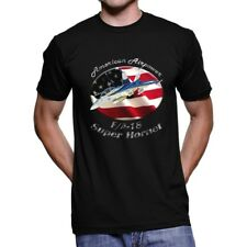 F/A-18 Super Hornet American Airpower Men`s Dark T-Shirt
