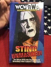 WCW/nWo - Sting: Unmasked (VHS, 1998)  BRAND NEW, FACTORY SEALED