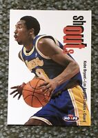 KOBE BRYANT 1998-99 Hoops Shout Outs Los Angeles Lakers #21 🏀