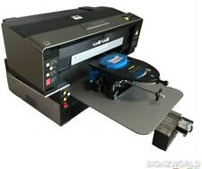 Print All Over Flatbed DTG Direct to Garment Textile Printer 32x50cm + 6 Colours